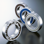 Picture of 6207-2NSE9NR - Deep Groove Ball Bearing    (35x72x17)